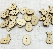 Natúr fa húsvéti gombok