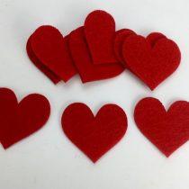Filc szív 5 cm