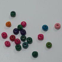 színes fa gyöngy 3,5mm