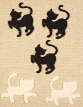 Filc figura macska, cica