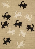 Filc figura macska, cica mini