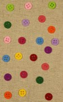 Filcfigura színes gombok 15 mm