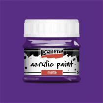 Pentart matt akrilfesték - AMETISZT 50 ml