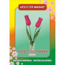 Kézműves csomag - Piros Tulipán