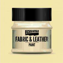 Pentart Textil és bőrfesték 50 ml - bézs