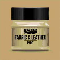 Pentart Textil és bőrfesték 50 ml - világosbarna