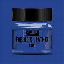 Pentart Textil és bőrfesték 50 ml - kék