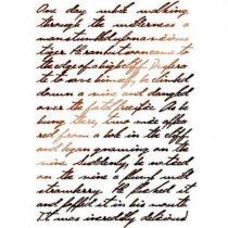 Stamperia Stencil / Festősablon - Calligraphy
