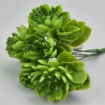 Zöld pozsgás csokor 26 cm