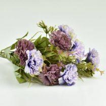 Szegfű csokor lila 33 cm