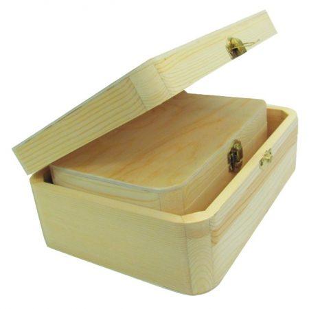 Fa doboz szett 2 darabos