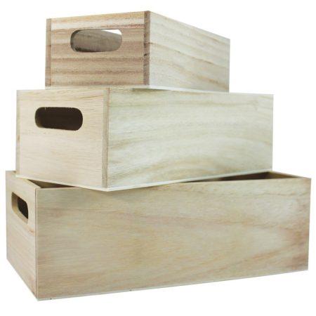 Fa tároló doboz