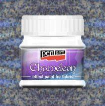 Pentart Chameleon textilfesték 50 ml - kék
