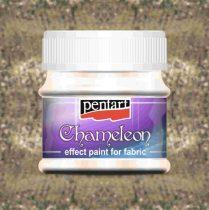 Pentart Chameleon textilfesték 50 ml - világosarany