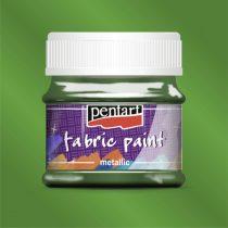 Pentart Textilfesték metál zöld 50 ml