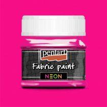 Pentart Textilfesték neon pink 50 ml