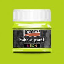 Pentart Textilfesték neon zöld 50 ml