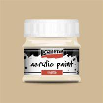 Pentart matt akrilfesték - BÉZS 50 ml