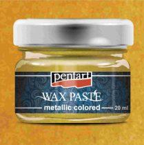 Pentart színes metál viaszpaszta 20 ml - sárga