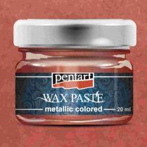 Pentart színes metál viaszpaszta 20 ml - piros