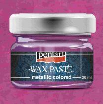 Pentart színes metál viaszpaszta 20 ml - magenta