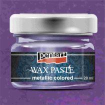 Pentart színes metál viaszpaszta 20 ml - lila