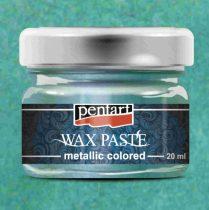 Pentart színes metál viaszpaszta 20 ml - türkiz