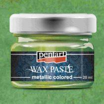 Pentart színes metál viaszpaszta 20 ml - zöld