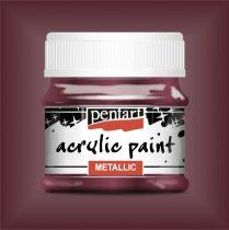 Pentart metál akrilfesték ARANYLILA 50 ml