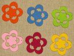 Filcfigura - Virág ötszirmú