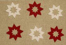 Filcfigura csillag karácsony