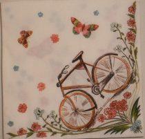 Dekorszalvéta - Bicikli