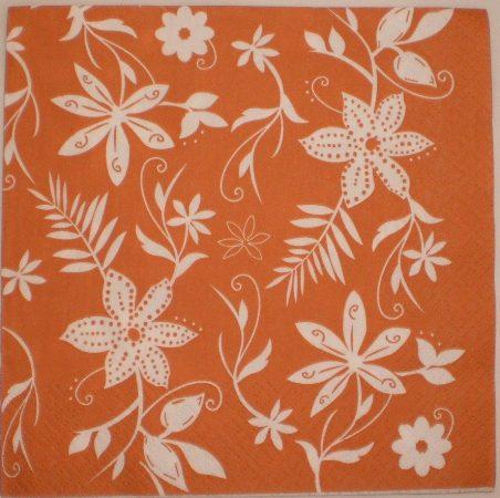 Dekorszalvéta - Virágok