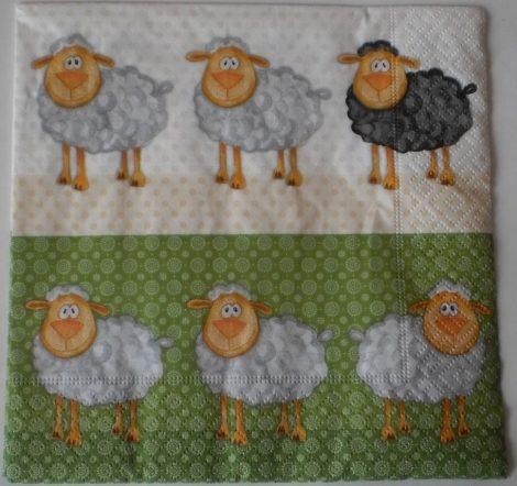 Dekorszalvéta - Bárányok