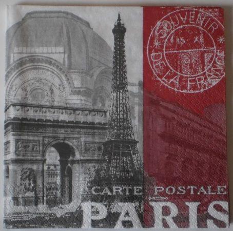 Dekorszalvéta - Paris