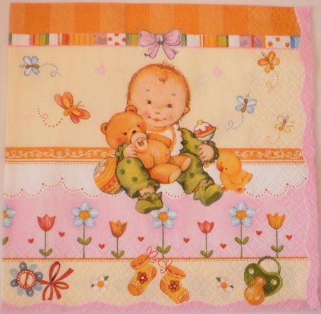 Dekorszalvéta - Baby