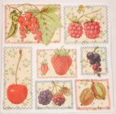 Dekorszalvéta - Gyümölcsök, Befőzés, Lekvár