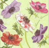 Dekorszalvéta - Virágok - Anemone