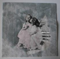 Dekorszalvéta - Two angels 2