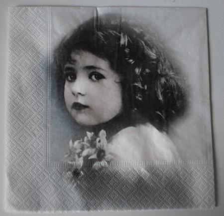 Dekorszalvéta - Vintage