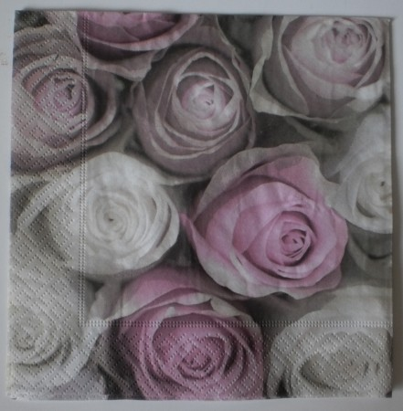 Dekorszalvéta - Roses all over