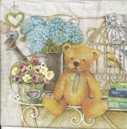 Dekorszalvéta - Teddy