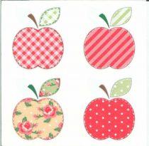 Dekorszalvéta - Patchwork Appels