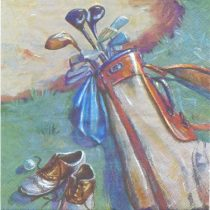 Dekorszalvéta - Golf