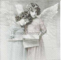 Dekorszalvéta - Angels reading