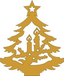 Karácsonyi Fafigurák